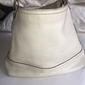White Coach Tote Bag
